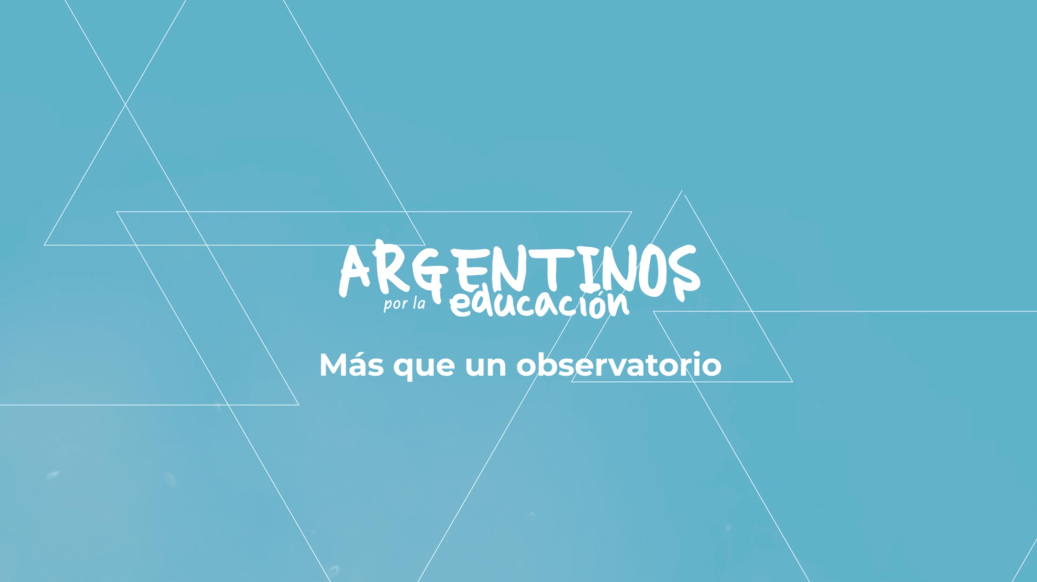 infinidad argentinos por la educacion