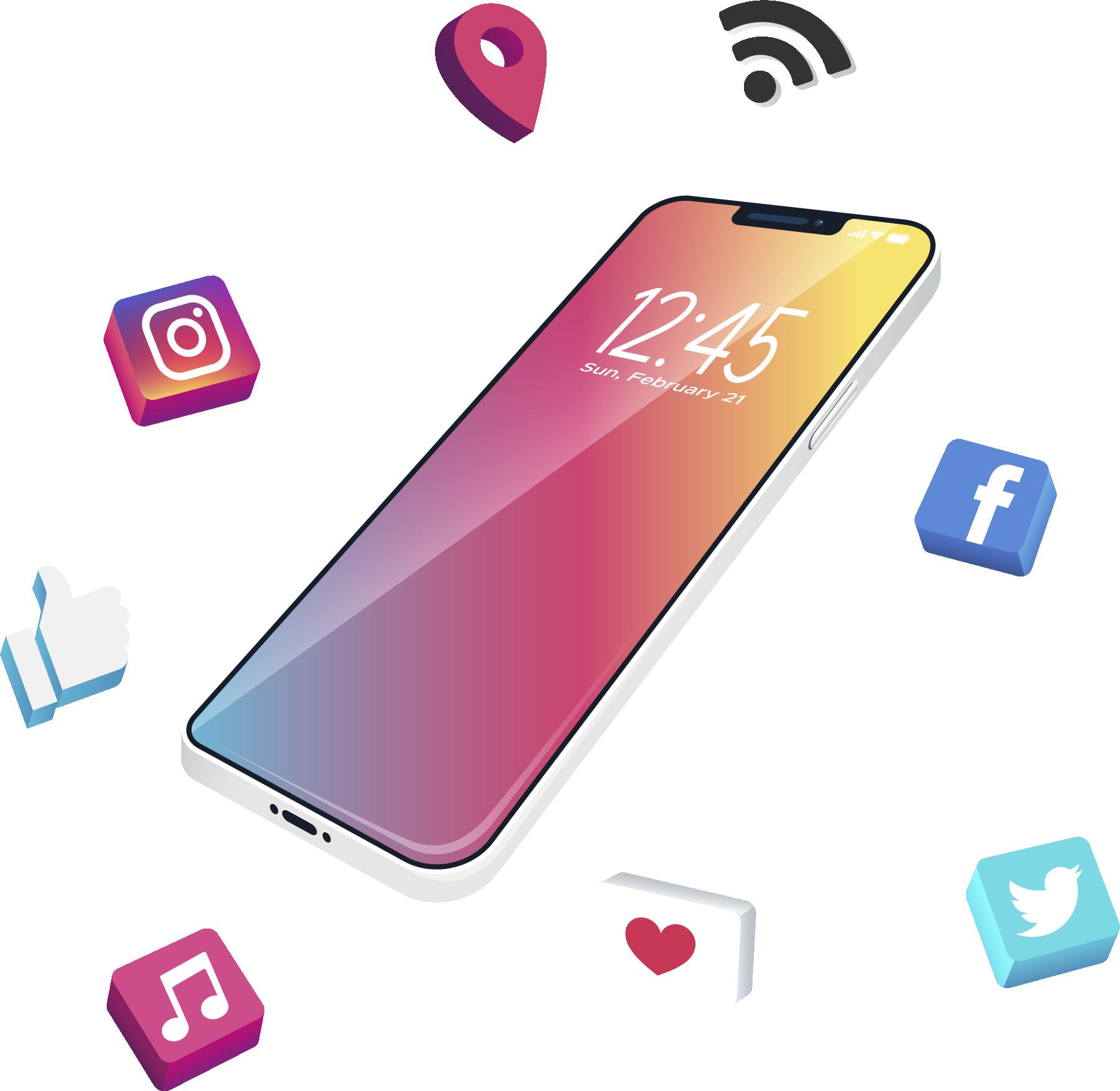 infinidad social media servicios