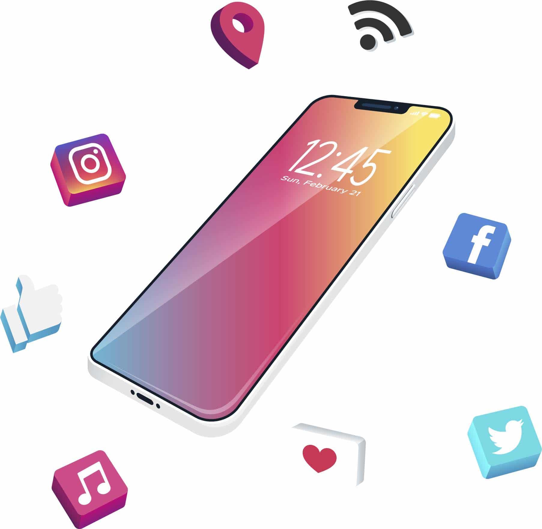 infinidad servicios social media